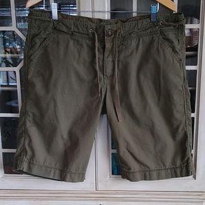 Prana Women's Khaki Shorts Size 14